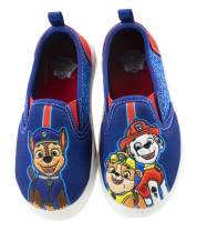 Paw Patrol Toddler Shoes,Easy Slip On Sneakers with Chase Marshall Rubble, Toddler Size 5 to 11