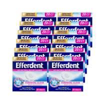 Efferdent Denture Cleanser Tablets, Complete Clean, 20 Tablets, 12 Pack