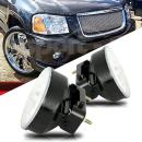 Scitoo Projector Clear Lens Fog Light Assembly Driver and Passenger Side fit 2002-2009 GMC Envoy