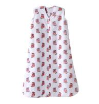 Halo Sleepsack Micro-Fleece Wearable Blanket, Pink Owl, Medium