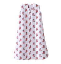 Halo Sleepsack Micro-Fleece Wearable Blanket, Pink Owl, Small