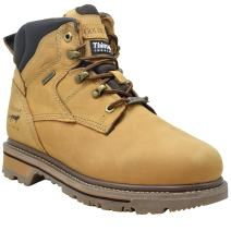 """King Rocks Waterproof Work Boots Men's 6"""" Boot for Construction with 3M Thinsulate Insulation"""