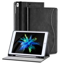 ipad 6th Generation Cases with Pencil Holder 9.7 inch for ipad Air 2 1 a1893 a1474 a1566 a1673 a1822 Model PU Leather Folding Stand Folio Cover with Auto Wake/Sleep and Multiple Viewing Angles
