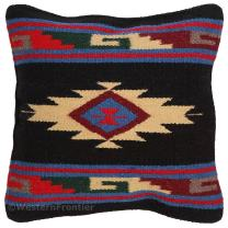 El Paso Designs Aztec Throw Pillow Covers, 18 X 18, Hand Woven in Southwest and Native American Styles (Aztec Star)