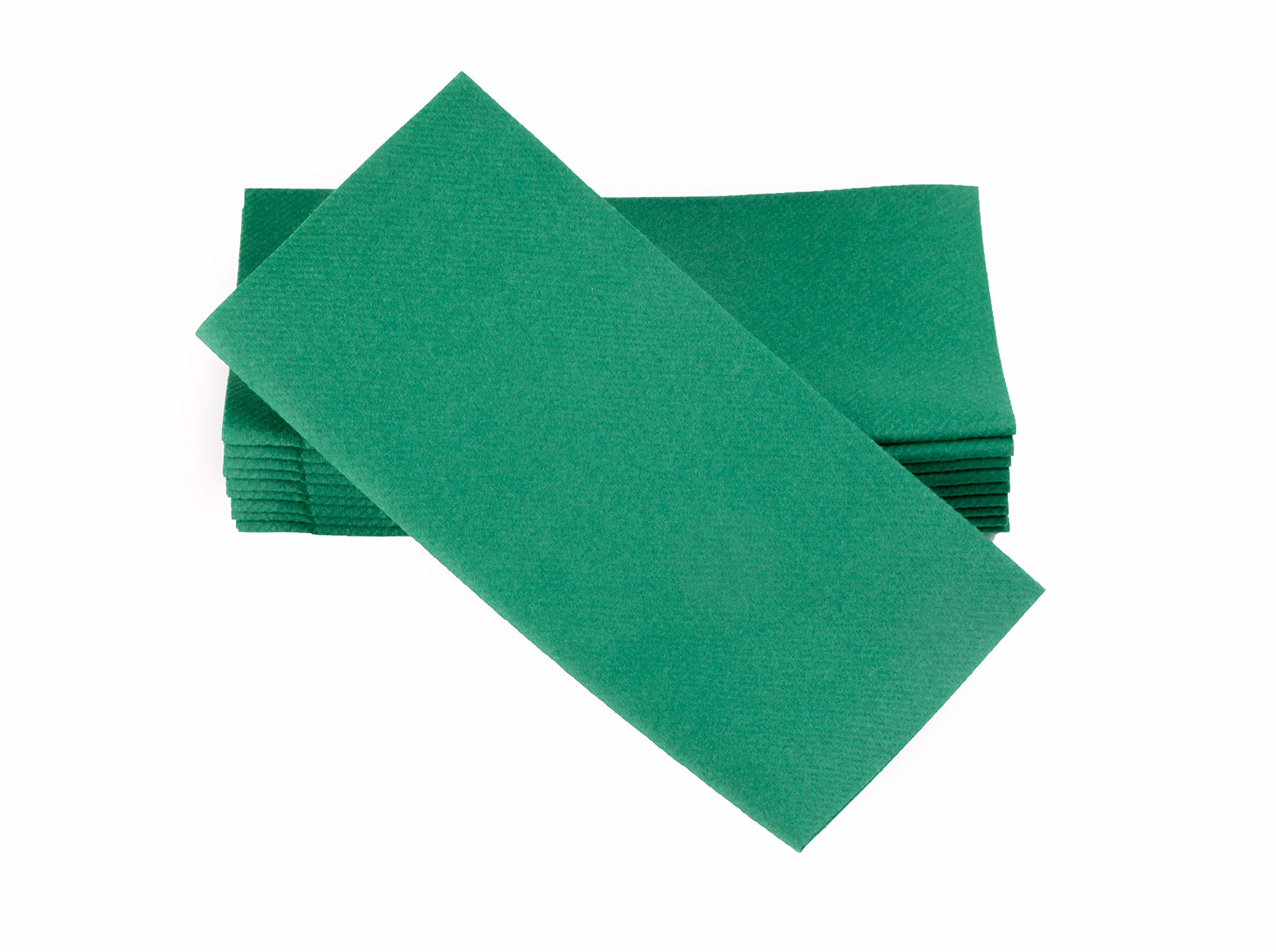 """Simulinen Colored Napkins - Decorative Cloth Like & Disposable, Dinner Napkins - Green - Soft, Absorbent & Durable - 16""""x16"""" - Great for Any Occasion! - Box of 50 - Perfect for St. Patrick's Day!"""