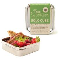 Ecolunchbox Stainless Steel Food Storage Container, Cube