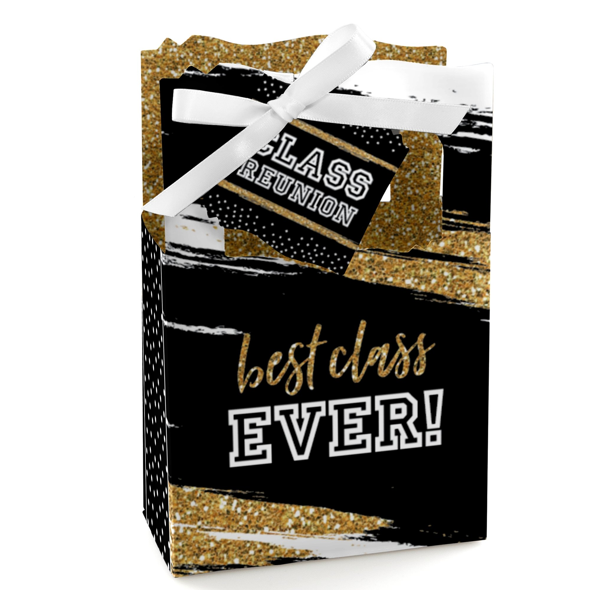 Reunited - School Class Reunion Party Favor Boxes - Set of 12