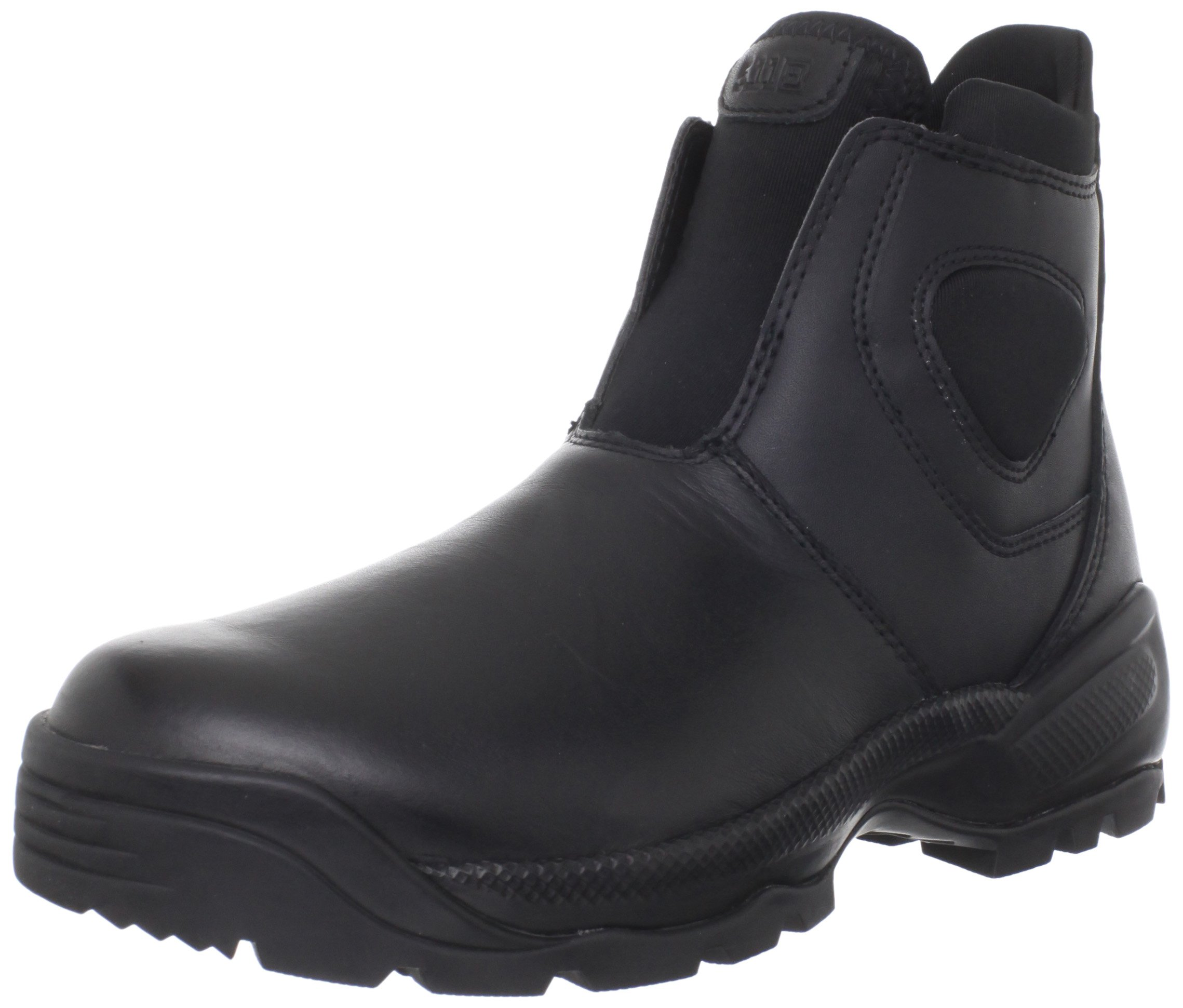 5.11 Tactical Men's Company Military Work Boots 2.0, Composite Shank, Leather, Style 12032