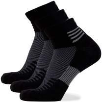 Wool-Tech Ankle Running Socks – Merino Wool for Men and Women, Anti-Blister Wicking