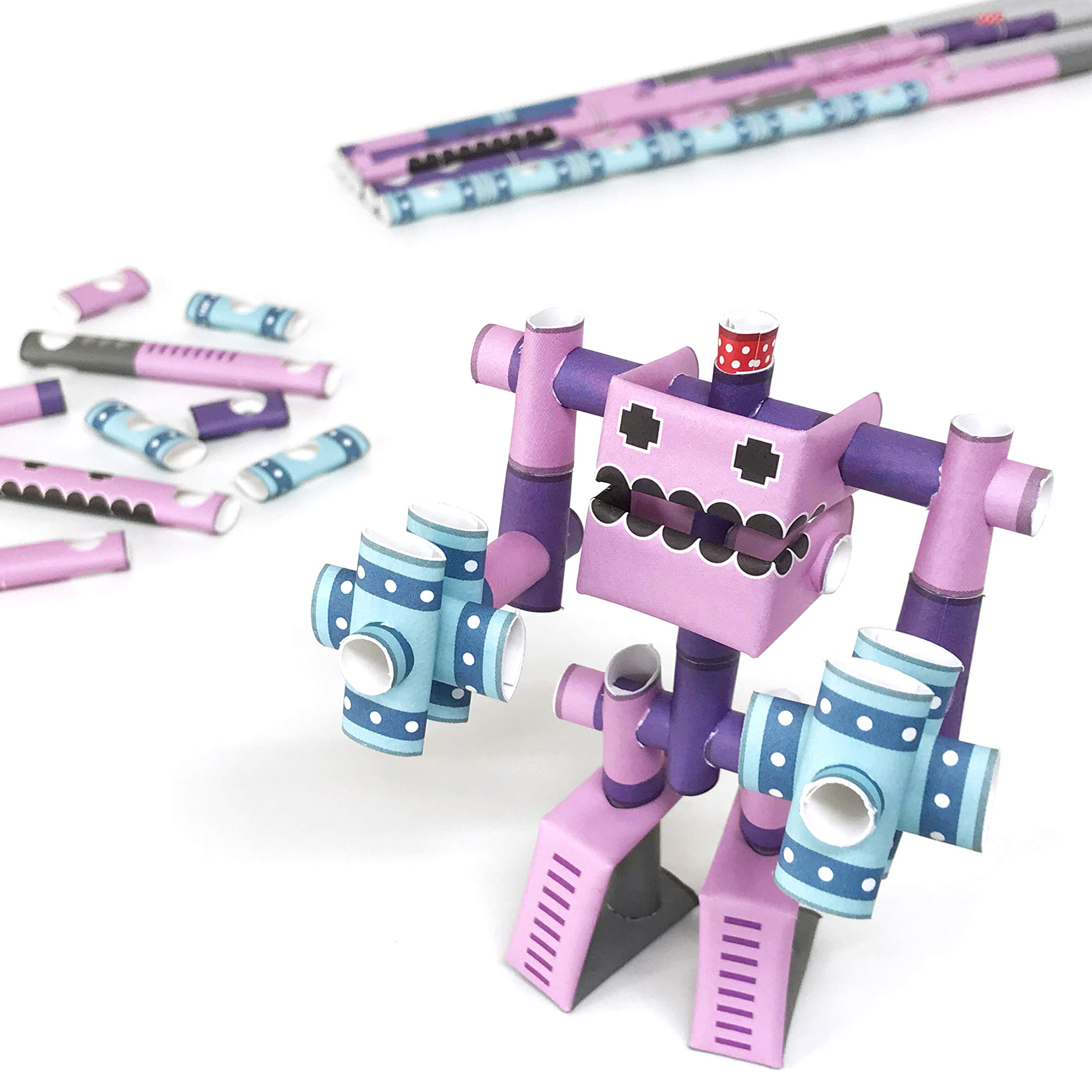 PIPEROID DIY Paper Craft Kit Hammer Rose - Japanese Arts and Craft Kit for Kids and Adults - Birthday Gift and Party Favor for 3D Puzzle and Origami Paper Craft Enthusiasts