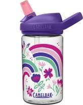 CamelBak Eddy+ 14 oz Kids Water Bottle with Tritan Renew – Straw Top