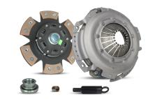 Clutch Kit Works With Chevrolet Camaro Pontiac Firebird Base Convertible Coupe 2-Door 1993-1995 3.4L V6 GAS OHV Naturally Aspirated (6-Puck Clutch Disc Stage 2; All Models)