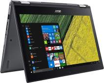 """Acer Spin 5 Convertible Laptop, 8th Gen Intel Core i7-8550U, 13.3"""" Full HD Touch, 8GB DDR4, 256GB SSD, Windows 10 Professional, SP513-52N-8326"""