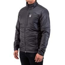 Spyder Men's Glissade Hybrid Insulator Jacket – Male Full-Zip Insulated Outdoor Apparel