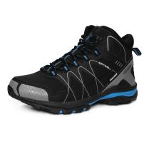 GRITION Mens Walking Boots Waterproof Running Hiking Boots Slip Resistance Outdoor Lightweight Lace Up Trainers Ankle Protection Winter Warm Breathable Shoes