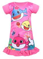 Toddler Girls Casual Dresses Nightgown 1-6 Years