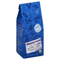 Java Trading Company Organic Ground Coffee, Breakfast Blend, 10 Oz