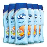 Dial Body Wash, Coconut Water & Mango, 16 Ounces (Pack of 6)