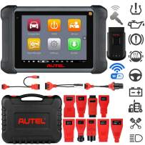 Autel MaxiSys MS906TS Car Scan Tool (Upgraded MS906BT), Full TPMS Service, 2021 8-Inch Car Diagnostic Scanner Tool, 31+ Maintenance Services, ECU Coding, Bi-Directional Control, ABS Bleeding, SAS, DPF