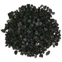 Hisencn Black Ceramic Vermiculite Granules for Vented Gas Log Sets, Inserts, Fireplaces, Fire-Pit and Stoves 35 oz Bag