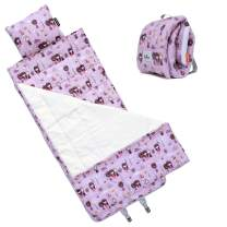 Urban Infant Bulkie Kids All-Purpose Nap/Sleep Mat – Converts to Backpack - Violet
