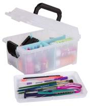 ArtBin Sidekick Art and Craft Supply Storage with Paint Pallet Tray, Open Tray