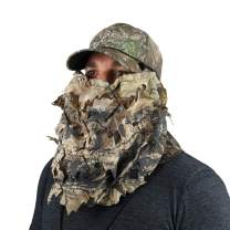 BunkerHead 3D Leafy and Cotton Camo Head Concealment System