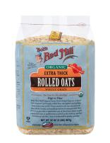 Bob's Red Mill - Organic Oats Rolled Thick, 32 Ounces (Regular)