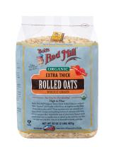 Bob's Red Mill - Organic Oats Rolled Thick, 32 Ounces (Resealable)