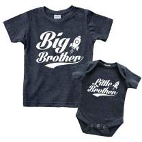 Big Brother Little Brother Shirts Matching Outfits Sibling Gifts Baby Set