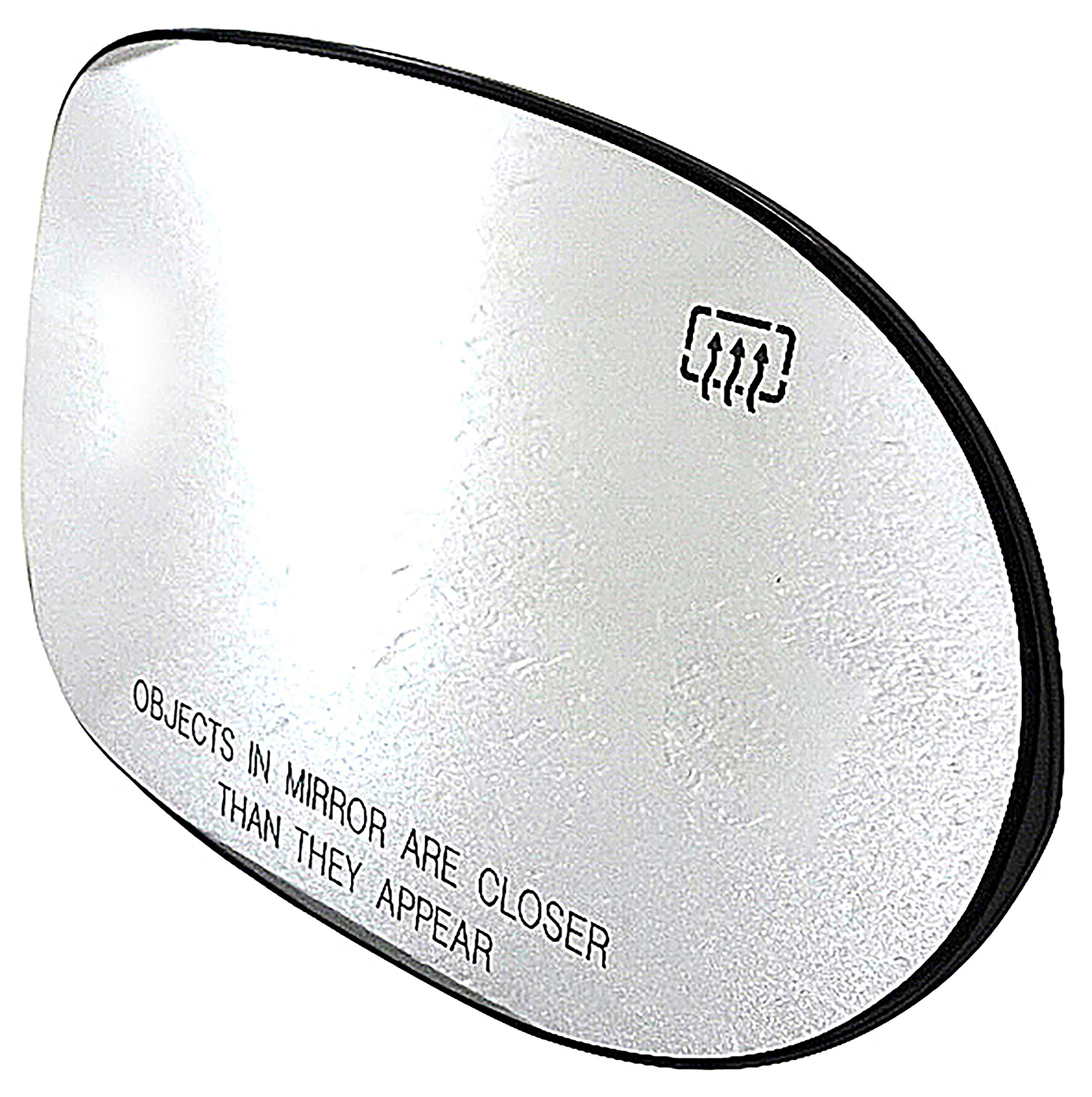 Dorman 56235 HELP!-Look! Passenger Side Heated Plastic Backed Mirror Glass