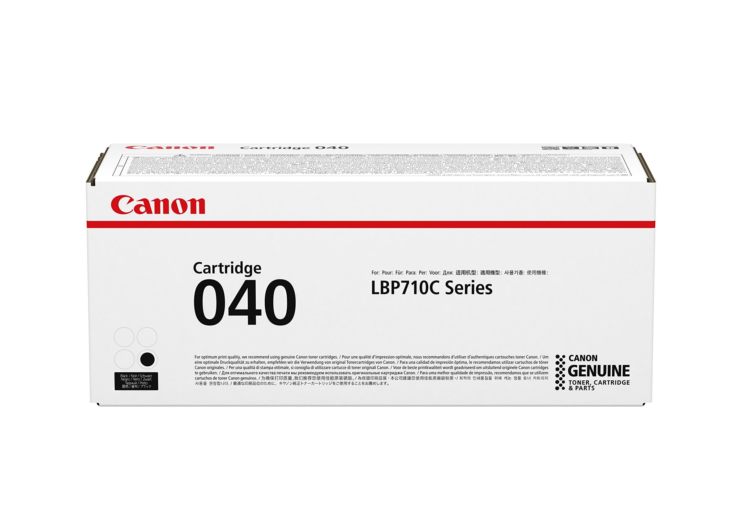 Canon Genuine Toner, Cartridge 040 Black (0460C001), 1 Pack, for Canon Color imageCLASS LBP712Cdn Laser Printer,Yellow
