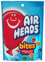 Airheads Bites  Stand Up Bag, Fruit, Non Melting, 9 oz (Bulk Pack of 12)