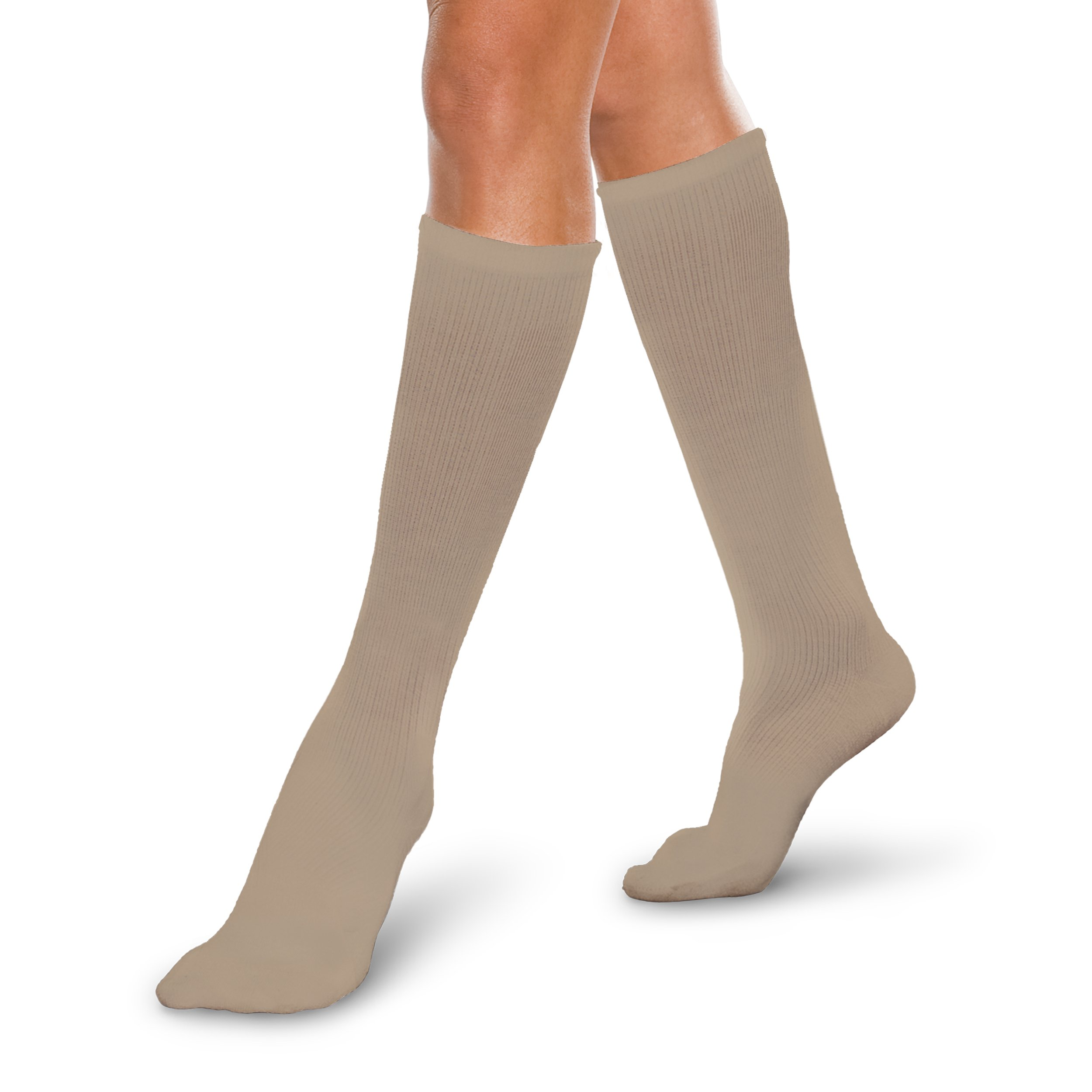 Core-Spun 30-40mmHg Firm Graduated Compression Support Knee High Socks