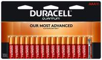 Duracell - Quantum AAA Alkaline Batteries - long lasting, all-purpose Triple A battery for household and business - 16 count