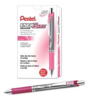 Pentel EnerGize Mechanical Pencil (0.7mm) Pink Accents, Box of 12 (PL77P)