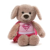 GUND DC Comics Supergirl Yvette Dog Stuffed Animal Plush, Pink, 12""