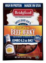 Bridgford Sweet Baby Ray's Original Beef Jerky, High Protein, Zero Trans Fat, Made With 100% American Beef, 6.2 Oz, Pack of 3