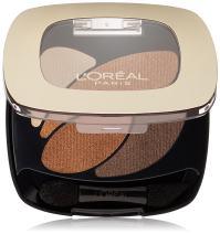 L'Oréal Paris Colour Riche Dual Effects Eye Shadow, Treasured Bronze, 0.12 oz.