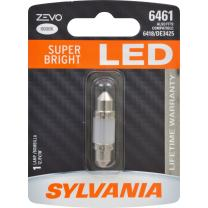 SYLVANIA - 6461 36mm ZEVO LED Festoon White Bulb - Bright LED Bulb, Ideal for Interior Lighting - Map, Dome, Trunk, Cargo and License Plate (Contains 1 Bulb)