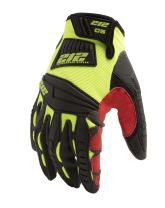212 Performance Super Hi-Vis Cut Resistant Gloves for Mechanics, Woodworking, and Construction, (EN Level 5, ANSI A4), X-Large