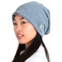 CHARM Womens Slouchy Summer Beanie - Mens Slouch Beanie Oversized Baggy Hipster Hat