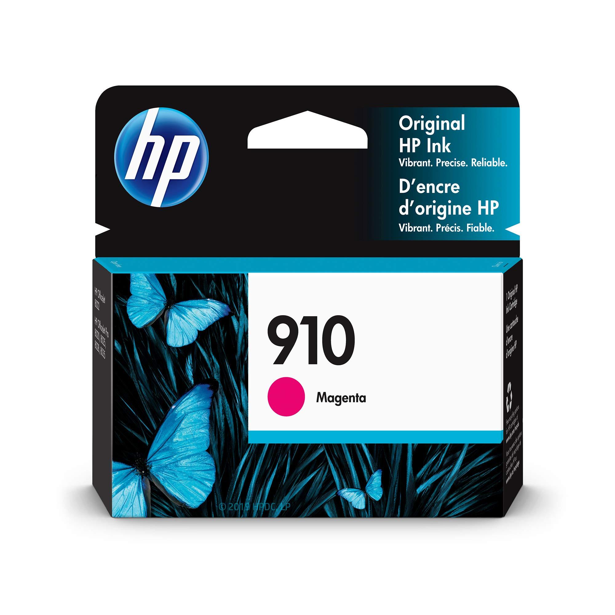HP 910   Ink Cartridge   Magenta   3YL59AN