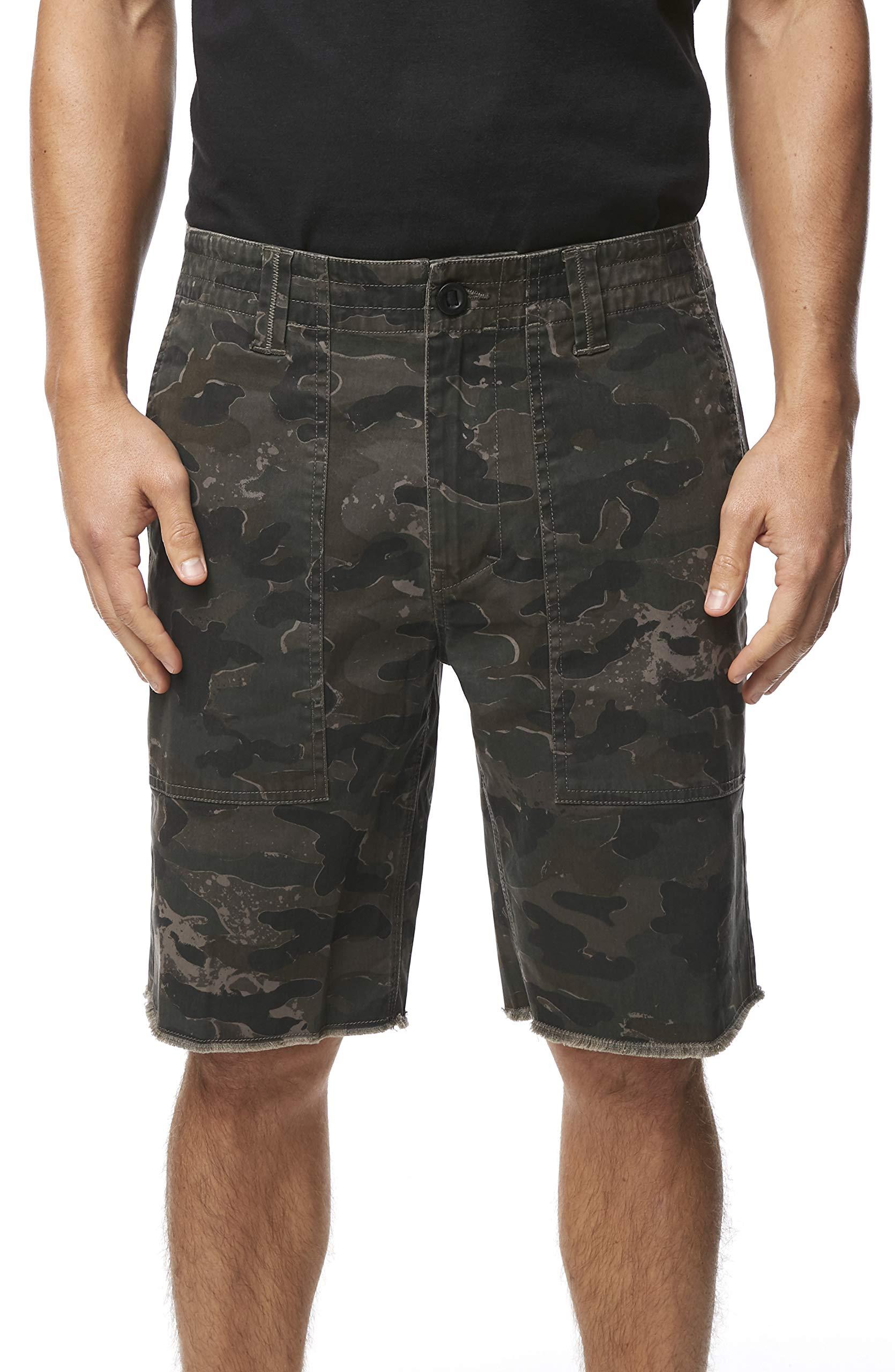 O'NEILL Men's Standard Fit Stretch Walk Short, 19 Inch Outseam