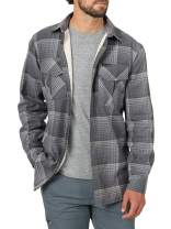 ATG by Wrangler Men's Thermal Lined Flannel Shirt