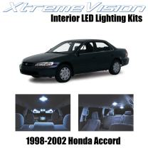 XtremeVision Interior LED for Honda Accord 1998-2002 (12 Pieces) Cool White Interior LED Kit + Installation Tool