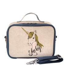 SoYoung Lunch Bag - Raw Linen, Eco-Friendly, Retro-Inspired and Easy to Clean (Wee Gallery Nordic)
