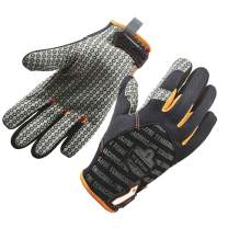 ProFlex 821 Work Gloves, Gripping Palm, Breathable Comfort, Small, Black