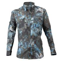 Kryptek Anemos Camo Shirt - Quick-Dry Fabic for Fishing & Swimming, UPF 50 UV Sun Protection (K-Ore Collection)