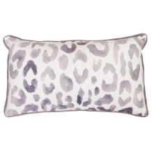 Thro by Marlo Lorenz 12x20 Miron Cheetah Velvet Throw Pillow, Nirvana
